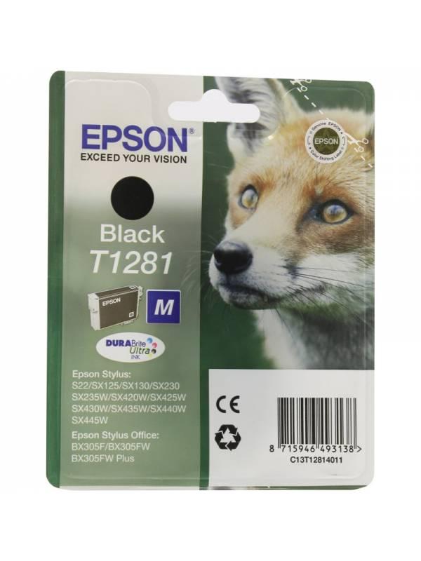 CARTUCHO EPSON T1281 NEGRO
