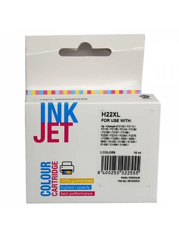 CARTUCHO INK HP C9352CEC9352A  22XL TRICOLOR