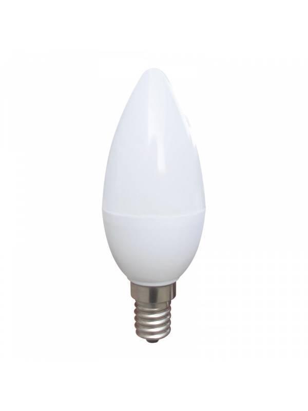 BOMBILLA LED E14 4200K  5W NEU TRAL WHITE  A 400lm VELA