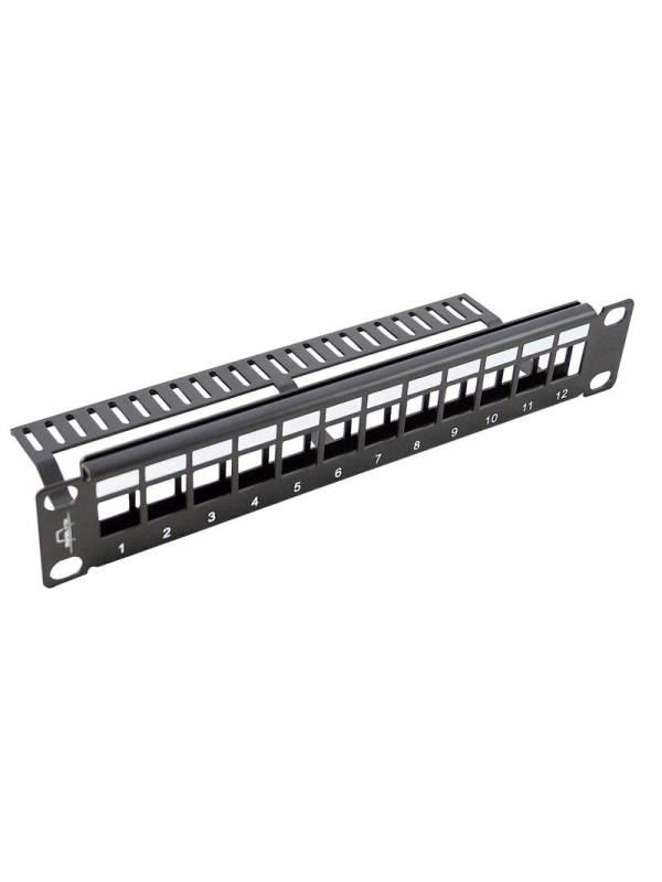PATCH PANEL 12 PTOS 10 KEYSTO NE