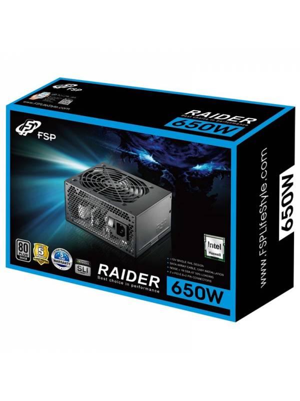 FUENTE 650W/54A 80+ XEON RAIDE