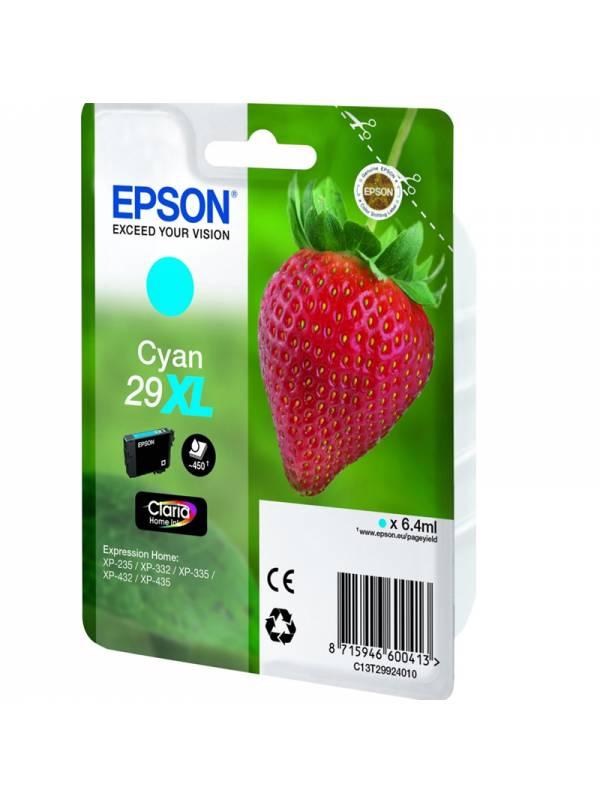 CARTUCHO EPSON T299240 29XL CY AN