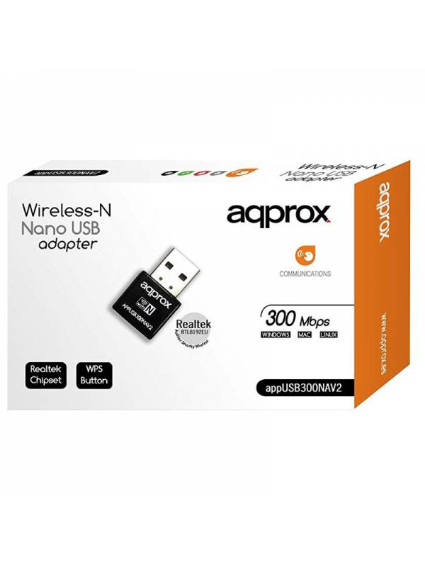 WIRELESS USB  300MPBS APPROX N ANO