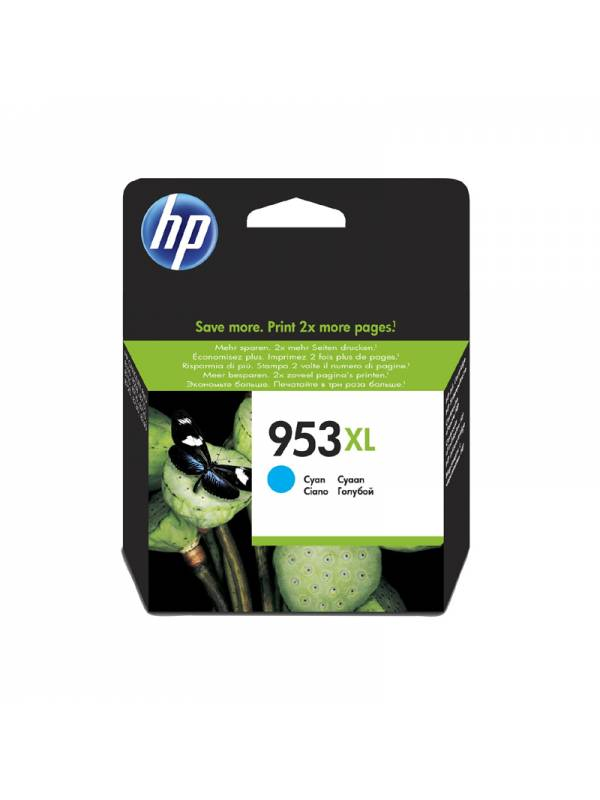 CARTUCHO HP F6U16AE 953XL CIAN