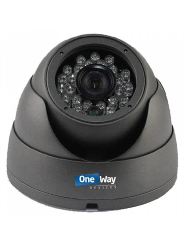 CAMARA SEGURI. CCTV ONEWAY DOM O 24 LEDS 2.1MMP OWAHD1080D