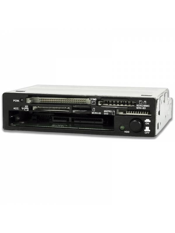 LECTOR INT. COOLBOX SATA Y SSD  + TARJETAS CR-450