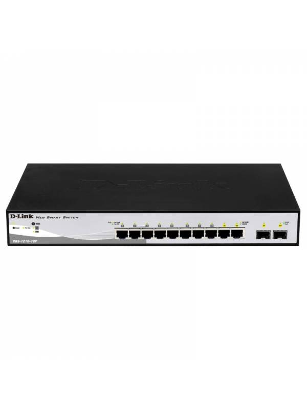 SWITCH GIGA 10PTOS DLINK DGS-1 210-10P