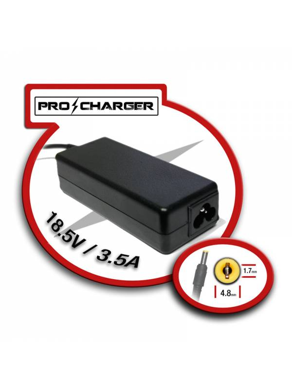 ALIMENTADOR PORT.  65W MOD.9   HP PRO-CHARGER ESPECIFICO