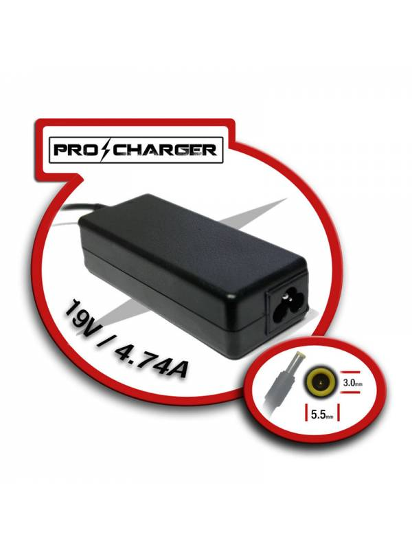 ALIMENTADOR PORT.  90W MOD.13  SAMSUNG PRO-CHARGER ESPECIFICO