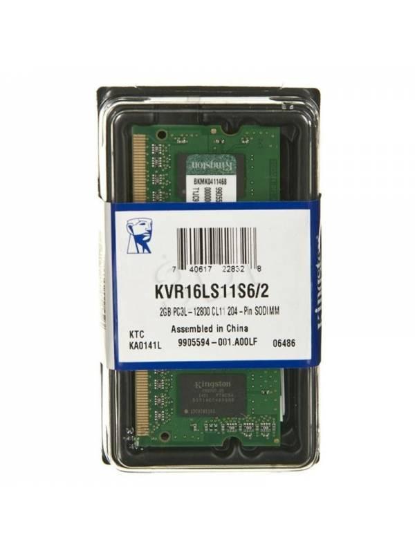 SODIMM DDR3L 2GB/1600 KINGSTON