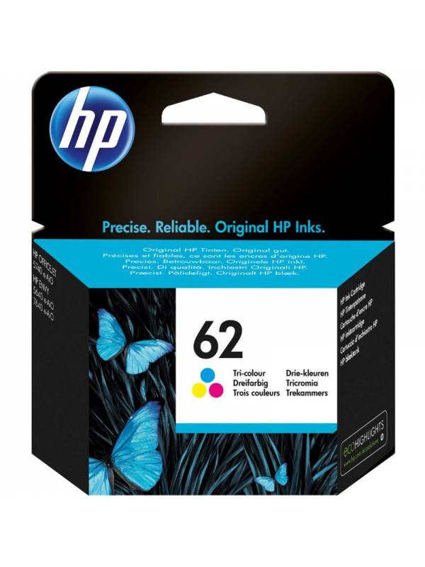 CARTUCHO HP C2P06AE 62 COLOR