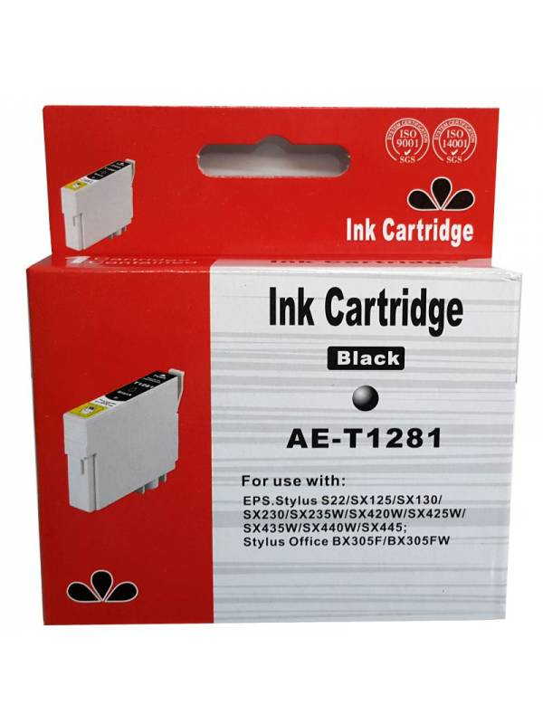 CARTUCHO INK EPSON T1281 NEGRO