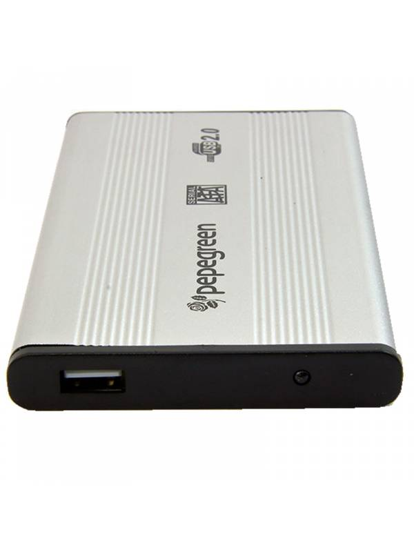 CAJA 2.5 USB 2.0  PLATA