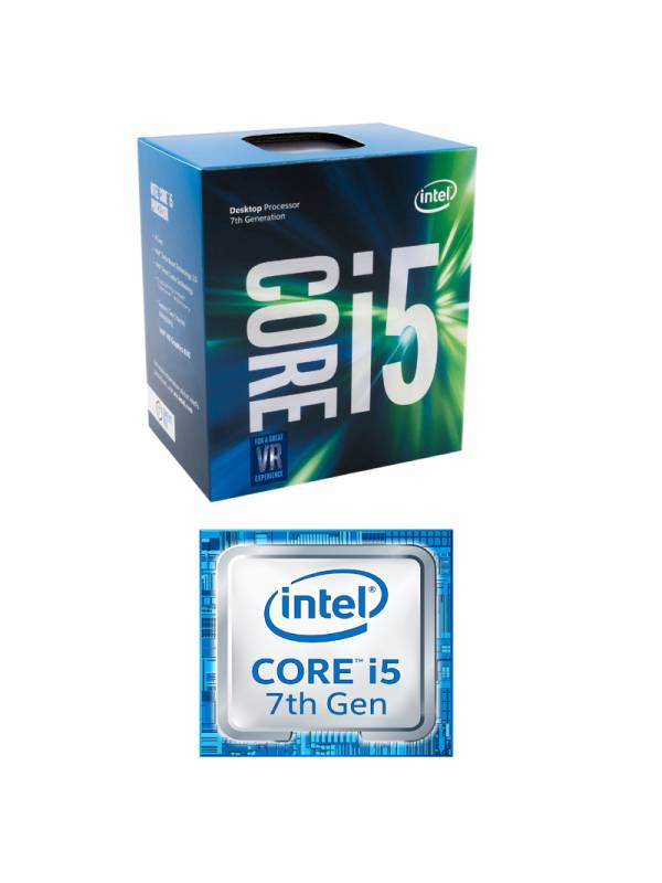 CPU INTEL S-1151 CORE I5-7500  3.4GHZ BOX KABYLAKE