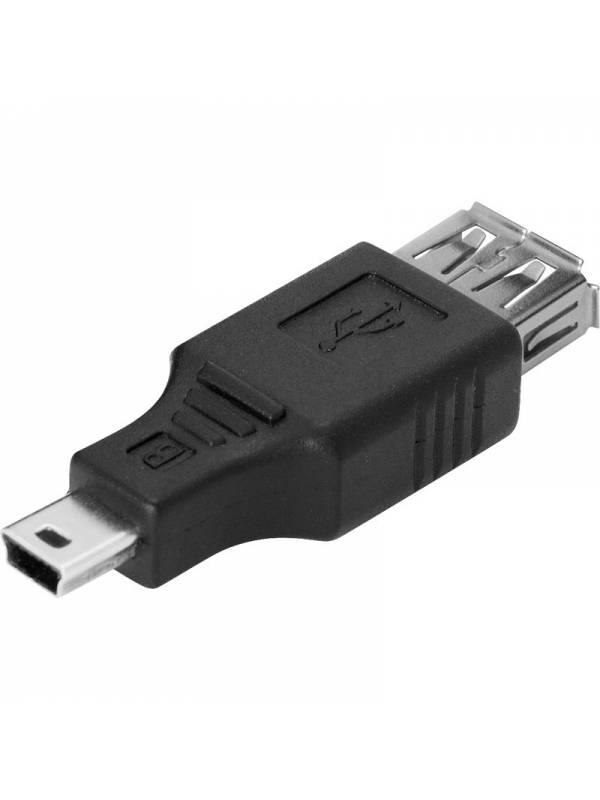 CONVERSOR MINI USB A USB HEMBR A