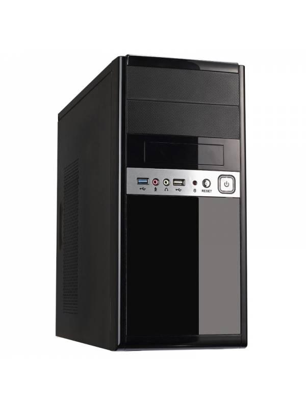 CAJA MICRO ATX UK-6011 NEGRA   USB 3.02.0 CONFUENTE