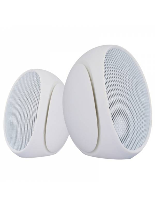 ALTAVOZ MINI PORTABLE 3.5MM OM EGA 6W BLANCO