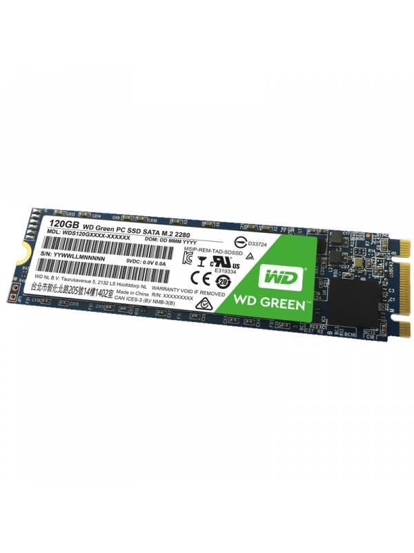 DISCO SSD  120GB WD M.2 GREEN  SATA 6GBS