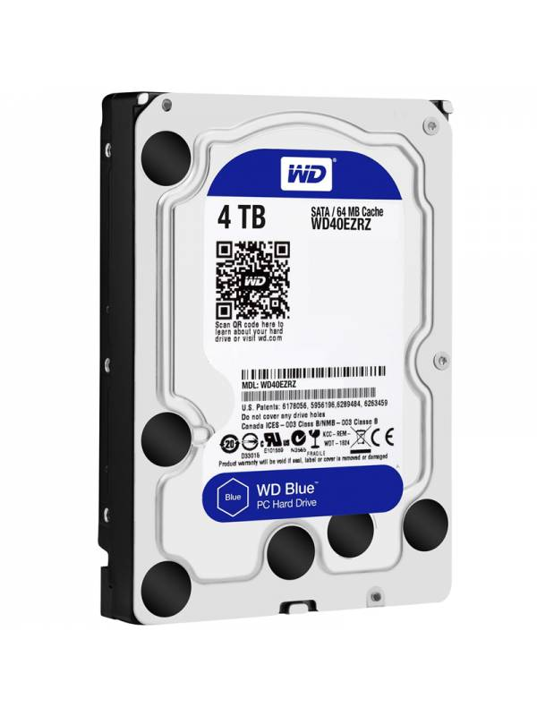 DISCO 3.5   4TB WD SATA3 BLUE