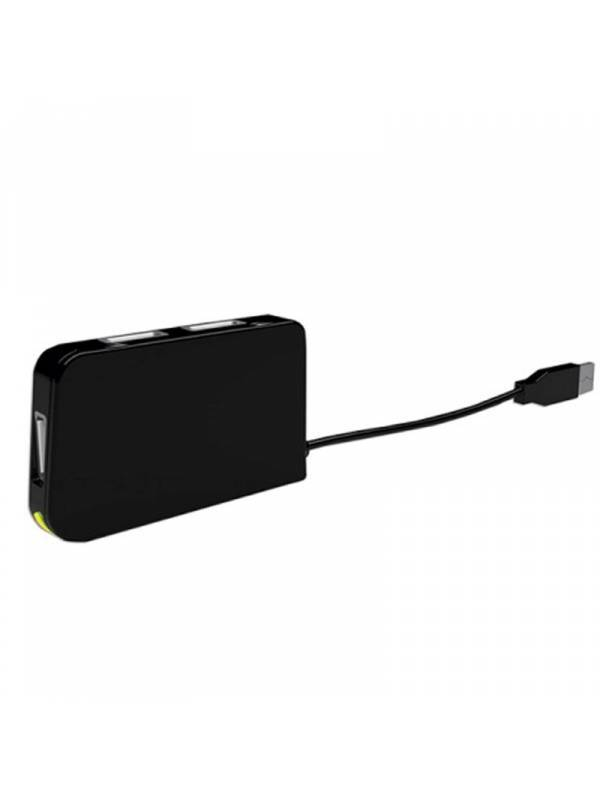 HUB 4 PTOS USB 2.0 APPROX TRAV EL NEGRO