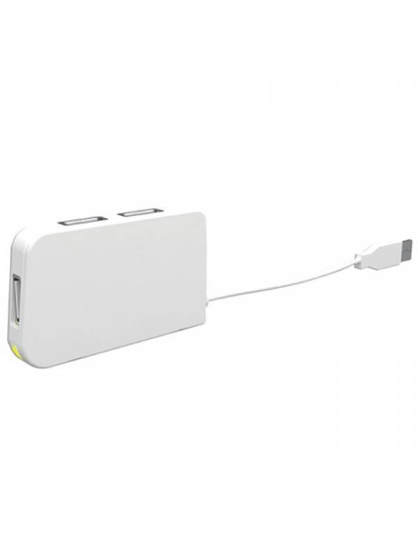 HUB 4 PTOS USB 2.0 APPROX TRAV EL BLANCO