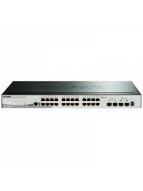 SWITCH GIGA 28PTOS DLINK DGS-1 510-28P