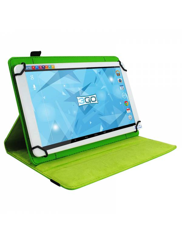 FUNDA  10.1 3GO TABLET VERDE