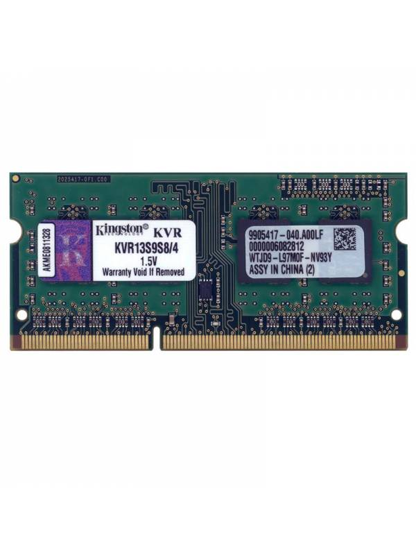 SODIMM DDR3 4GB1333 KINGSTON  MHz