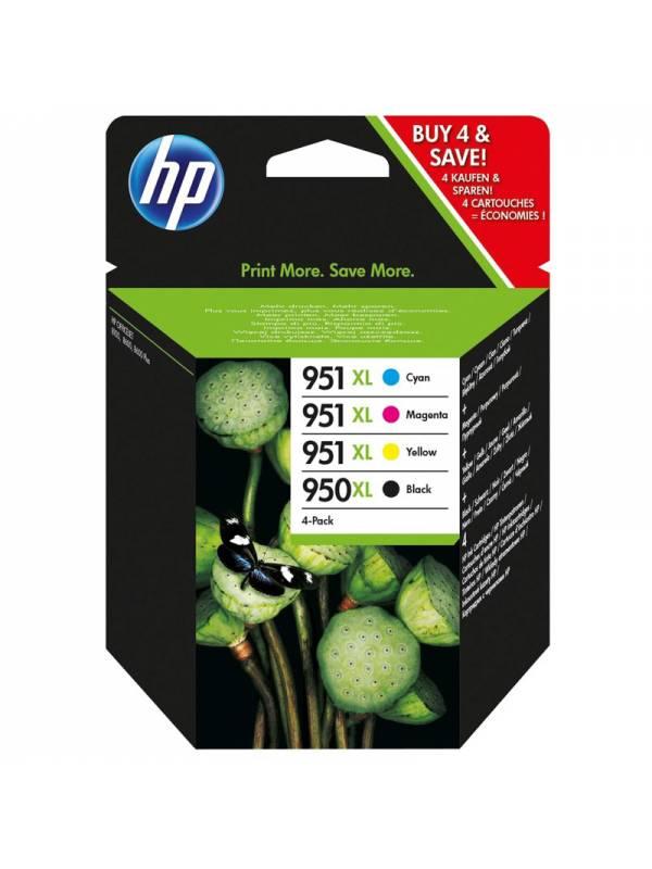 CARTUCHO HP C2P43AE MULTIPACK  4 COLORES 951XL950XL