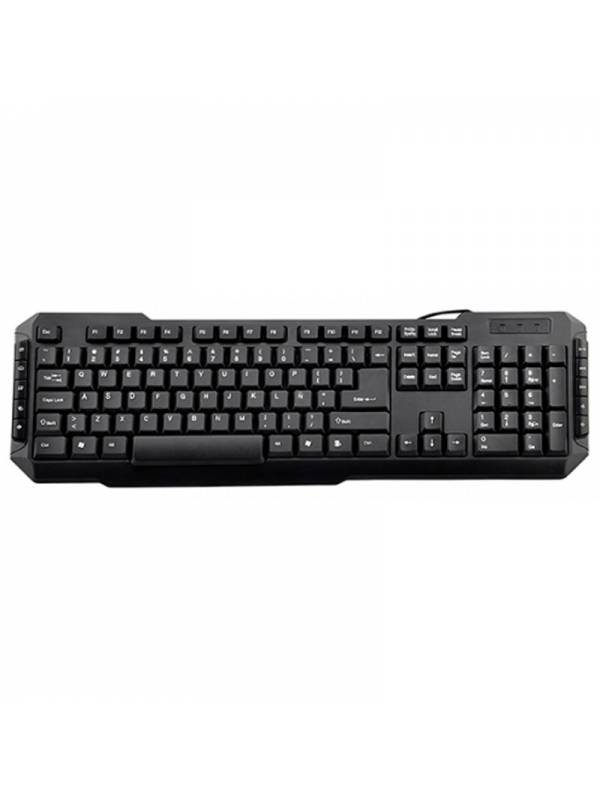 TECLADO USB MM 3GO DRILE NEGRO