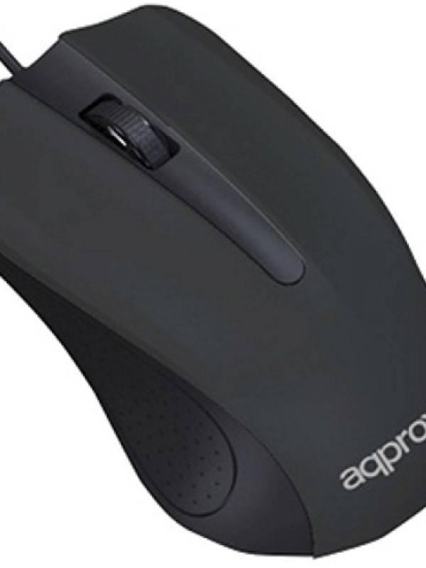 RATON USB APPROX NEGRO 1000DPI