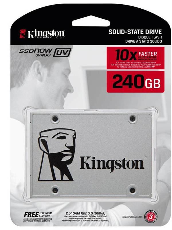DISCO SSD  240GB KINGSTON SATA 3 SIN ADAPTADOR SUV400S37240G