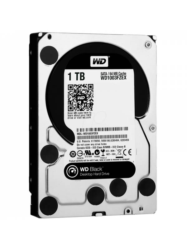 DISCO 3.5   1TB WD SATA3 BLAC K