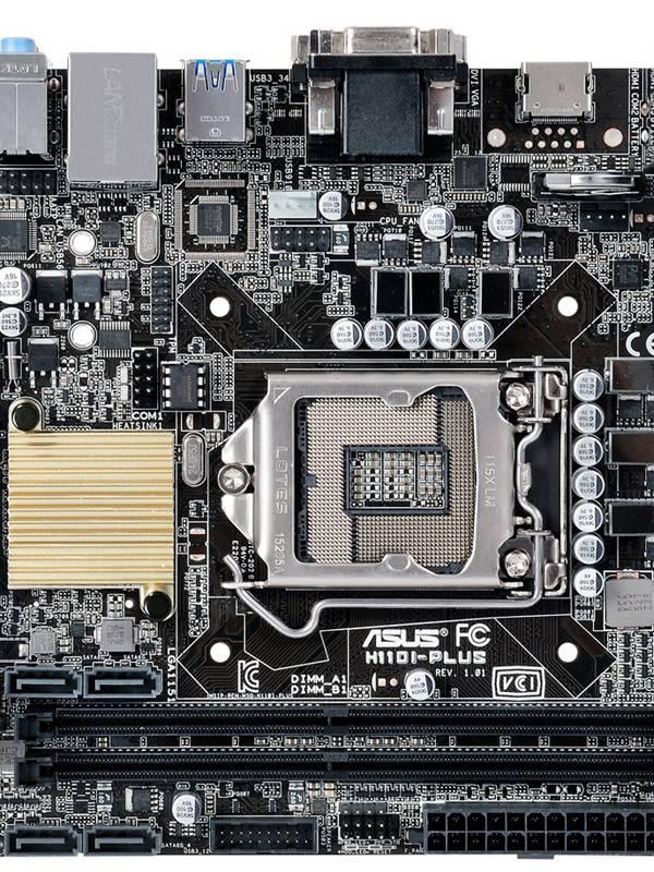 PLACA S-1151 ITX ASUS H110I PL US