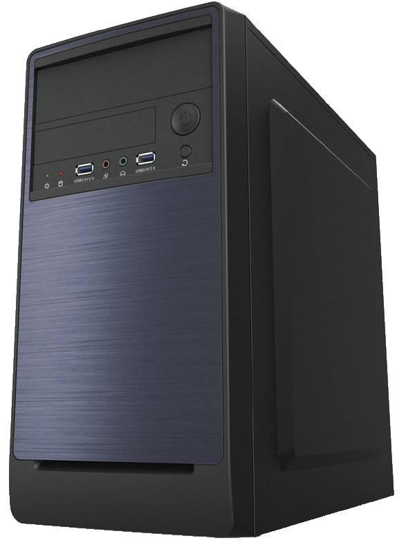 CAJA MICRO ATX COOLBOX M530    2x USB 3.0 NEGRA CON FUENTE