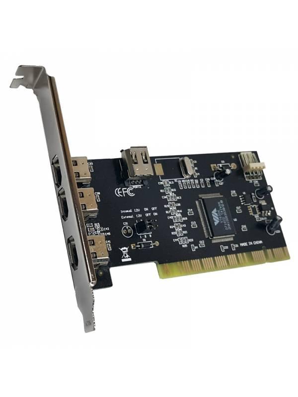 CONTROL. 3+1 PTOS PCI FIREWIRE