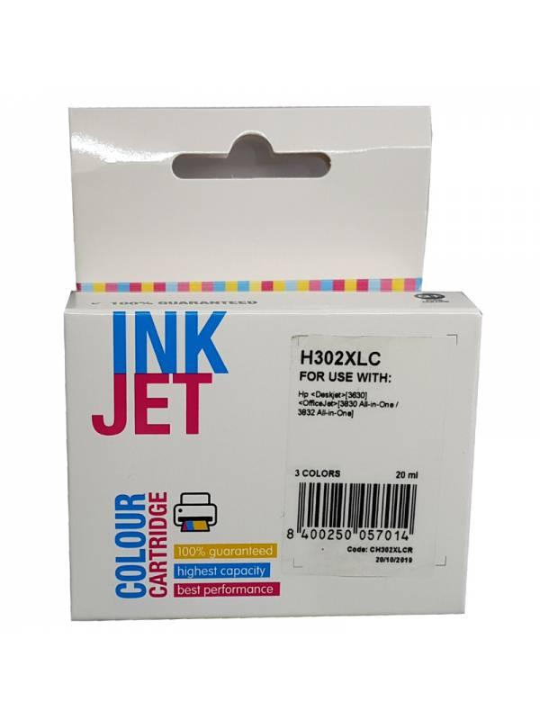 CARTUCHO INK HP F6U67AEF6U65A  302XL TRICOLOR