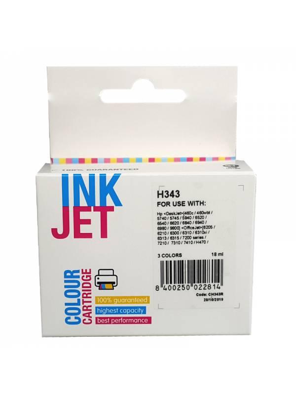 CARTUCHO INK HP C8766EE 343    TRIICOLOR