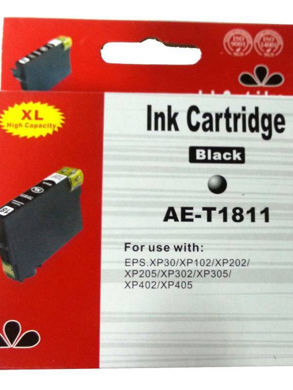CARTUCHO INK EPSON T01811C XL  NEGRO
