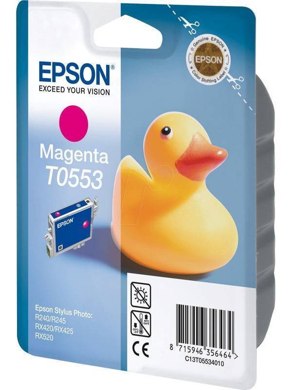 CARTUCHO EPSON T055340 MAGENTA