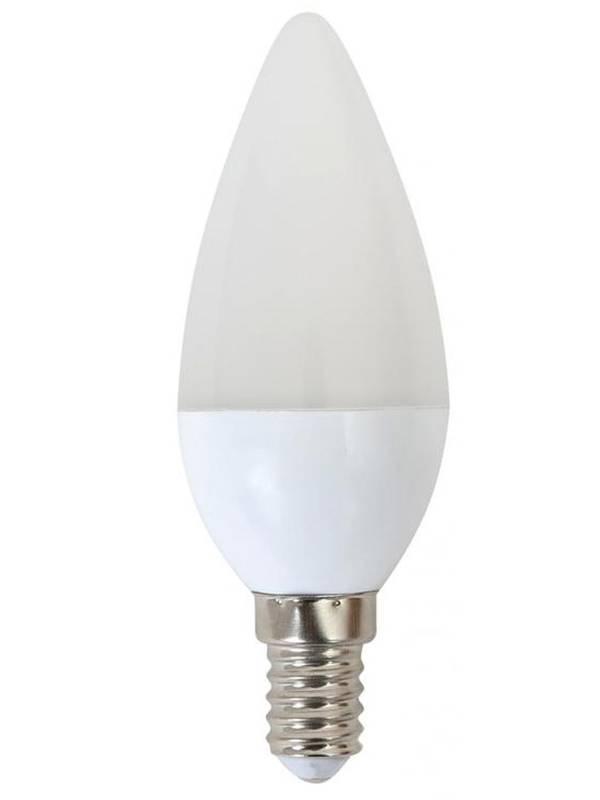 BOMBILLA LED E14 6000K  6W 520 LM BLANCO FRIO VELA OMEGA