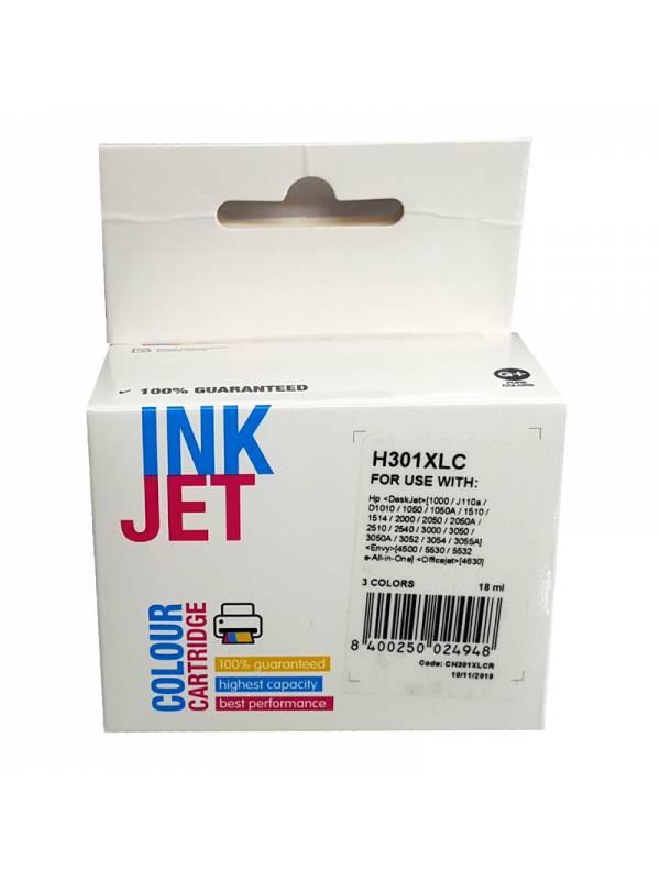 CARTUCHO INK HP H301XLC CH564E ECH562EE N301XL TRICOLOR