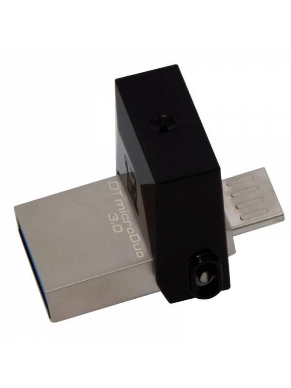 MEMORIA USB 3.0  16GB KINGSTON  MICRODUO OTG NEGRA