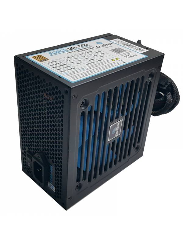 FUENTE 500W36A 80+ COOLBOX AT BRONZE