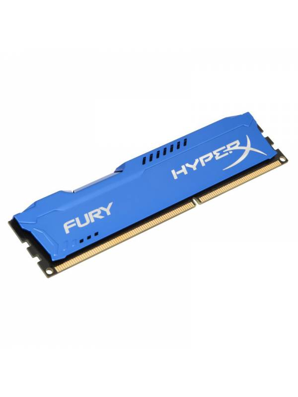 DDR3  8GB1600 KINGSTON HYPERX FURY BLUE