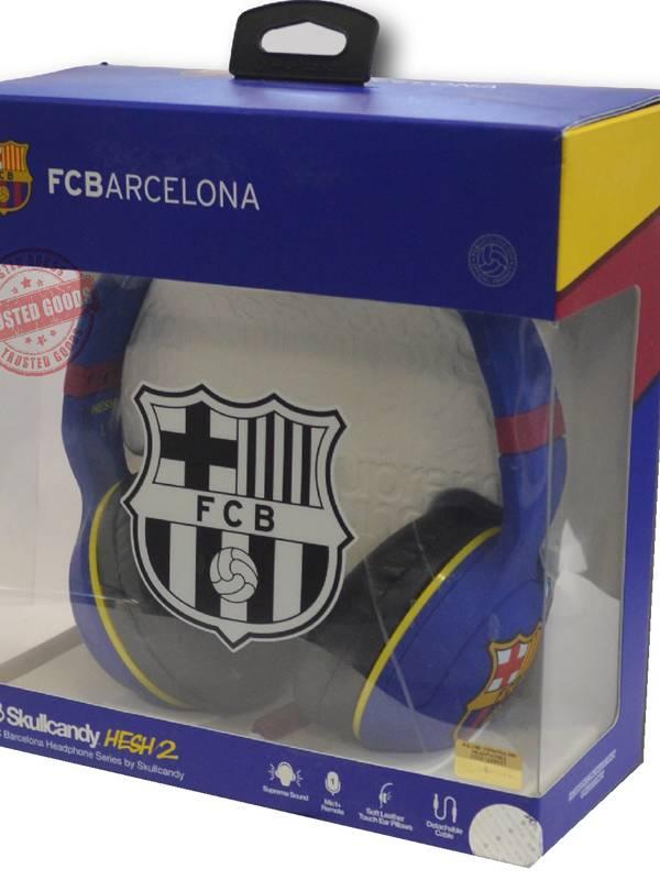AURI. + MIC 3.5MM SKULLCANDY   FC BARCELONA