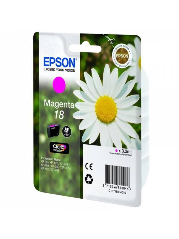 CARTUCHO EPSON T180340 MAGENTA NTA