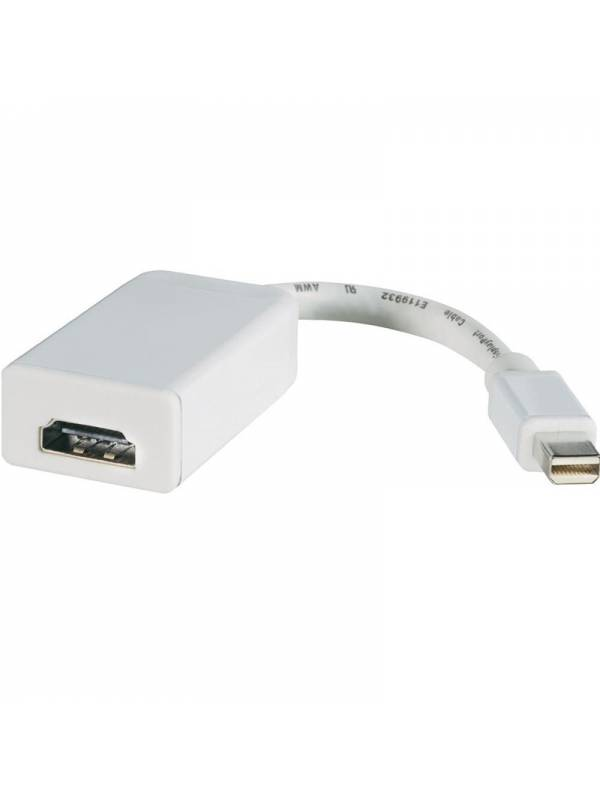 CABLE MINIDISPLAY A HDMI HEMBR A BLANCO