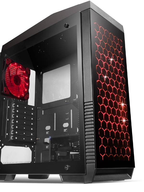 PC GDX GAMING PRO I7871621 I7- 8700 16GB 250m.2+1TB GTX10708G