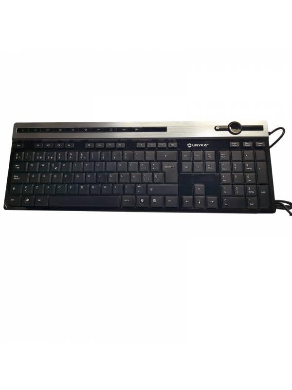 TECLADO USB MM UNYKA A2930 NEG RO